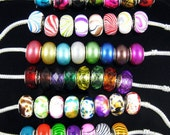 FREE SHIPPING! 100PCS  6 kinds styles Acryl bead silver core  BRACELET