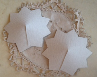 9 Point Star Nipple Tassel Bases