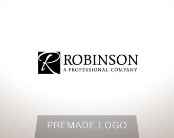 Logo Design - Premade Logo Design - Lawyer Logo - Law Firm Logo - Attorney Logo - Clean Logo, Modern Logo, Customized for any business - 057