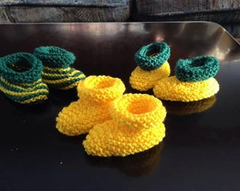 Baby booties!  Cute and fast!