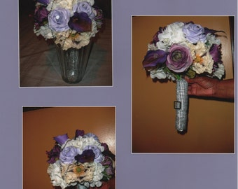 Rememberance Bridal  Bouquet ~MADE TO ORDER~