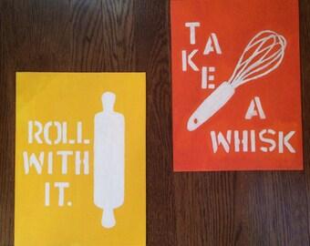 Kitchen Canvas Art (set of 2)