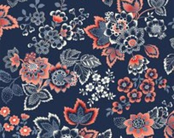 Navy Jacobean...French Navy Collection