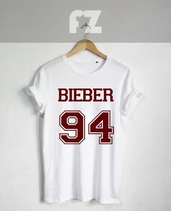 Bieber 94 shirt justin bieber shirts tshirt t shirt tee for Justin bieber black and white shirt