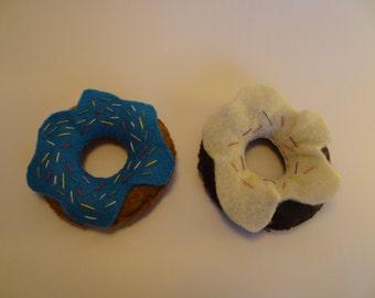Felt imaginative play donut