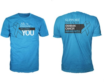 Ovarian cancer etsy for Ovarian cancer awareness t shirts