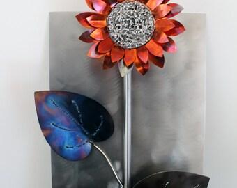 Wall Sunflower (in Metal Wall Sculptures)