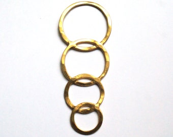 Gold filled brass rings stamping