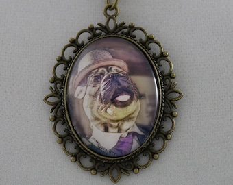 Steampug Jr: Formal - Cameo Necklace