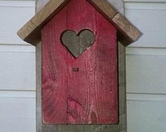 Wooden Bird House-bird house