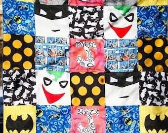 Batman blanket smaller version
