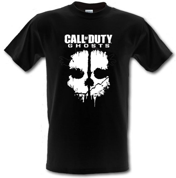 Call of duty ghosts gamer ps4 xbox gildan heavy cotton for Heavy duty work t shirts