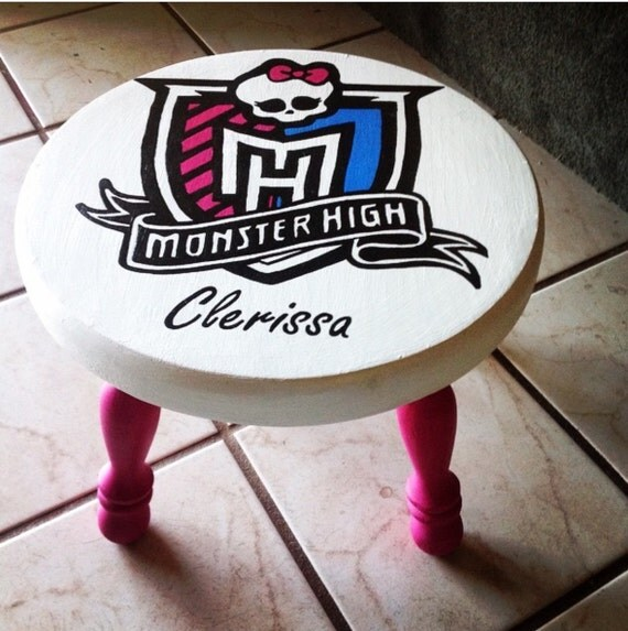 Personalized Children S Step Stool Hand Painted Step