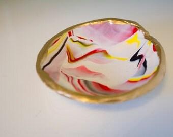 Jewelry Dish/Bauble Bowl (Red,Yellow,White,Black)