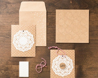 Simply Sent Snowflake Season Card Kit