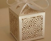 Currently out of stock - Elegant Ivory Wedding Favour 50  Boxes -wholesale prices
