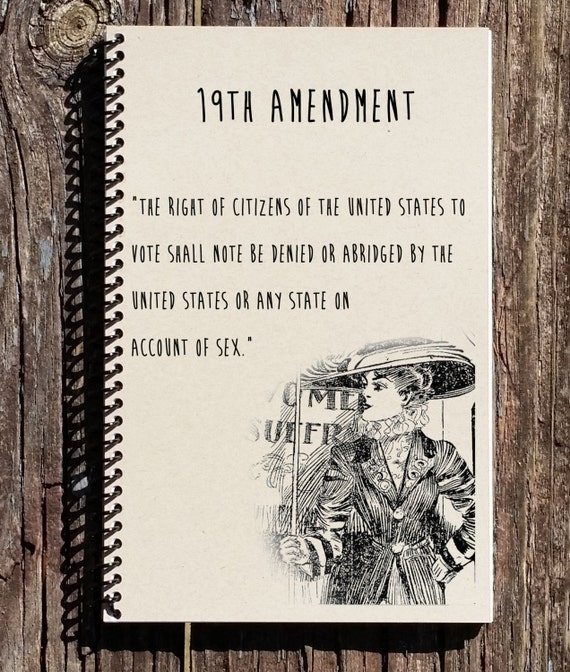 19th Amendment Women Suffrage