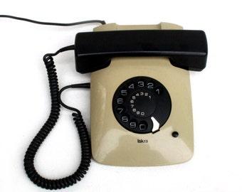 Iskra ETA 80 Yugoslavian Vintage Rotary Telephone