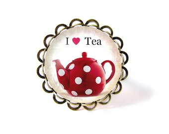 I Love Tea ring