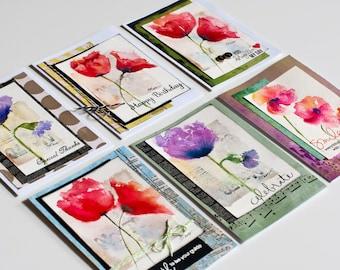 """Handmade Watercolor Cards """"Original Artwork"""""""