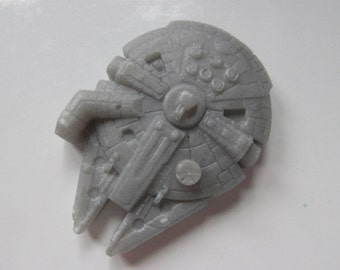 Millennium Falcon shaped soap
