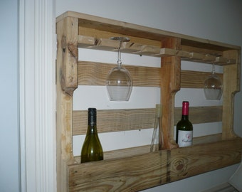 Double wall wine rack Cup above