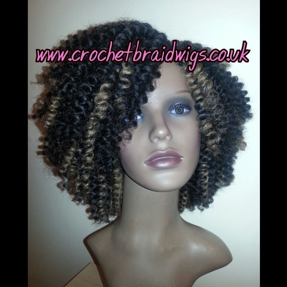 Buy Crochet Hair Uk : Crochet Braid Wig by CrochetBraidWigs on Etsy