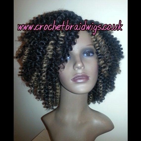 Crochet Braid Wig by CrochetBraidWigs on Etsy