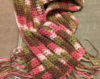 Crocheted Scarves - Many colors to choose from!