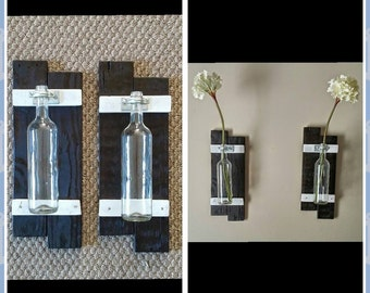 Decorative wall vases