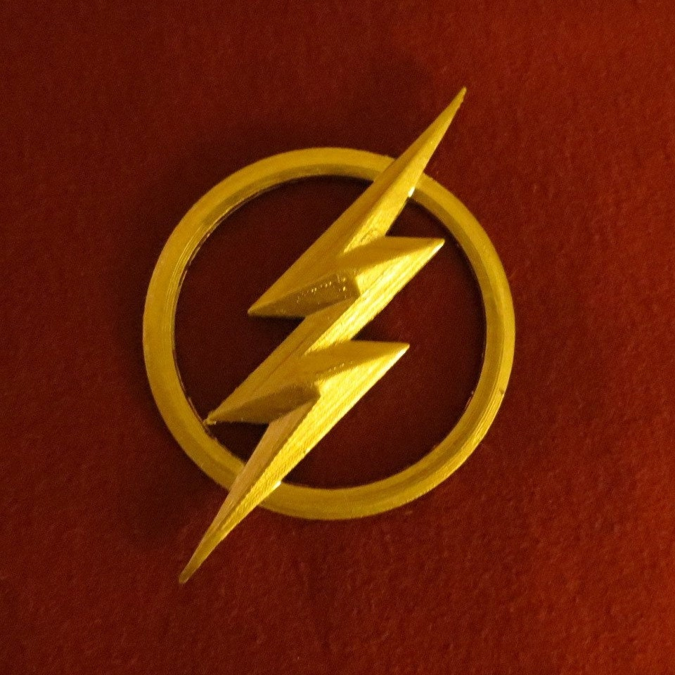 how to draw the flash lightning bolt