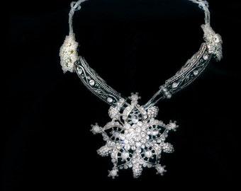 Black Tie Beauty Necklace
