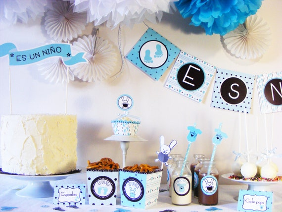 Decoracion para baby shower hombre for Fiesta baby shower decoracion