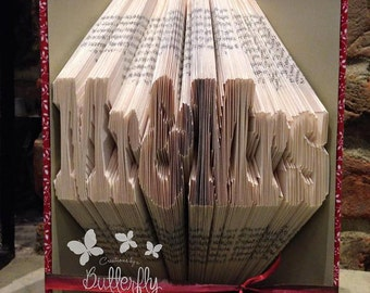 Book Sculpture - Mr & Mrs