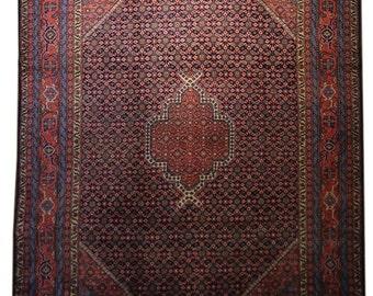 Antique Persian Rug - Tabriz Rug - 7.6x10.4