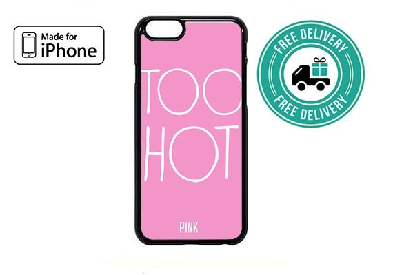 iphone too hot for iphone free shipping by casesbyjr on etsy 2664