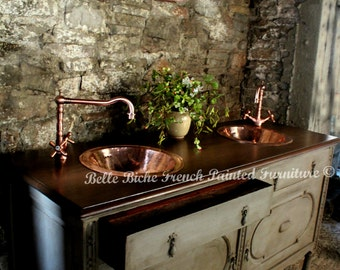 NOW SOLD Hand Crafted Antique Bespoke Washstand - Please contact us for similar pieces