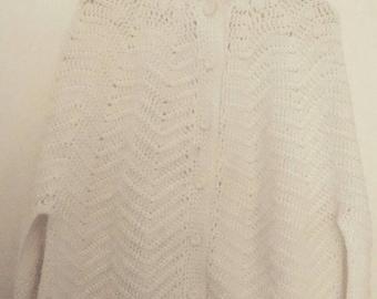 Cozy Hand Knit Sweater Poncho