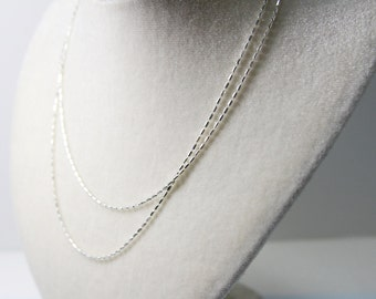 Sterling silver chain 1.5 CCDC