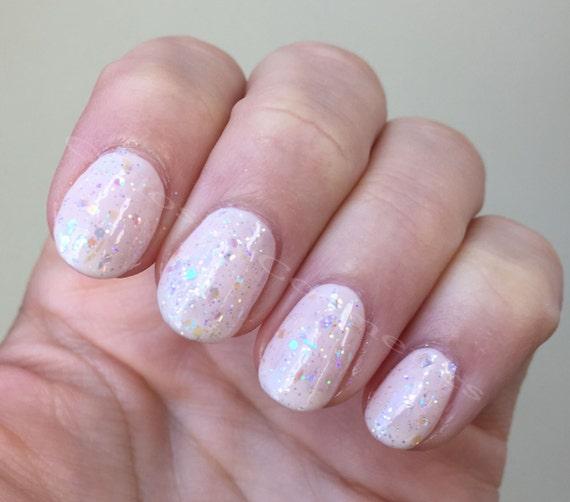 Opal Glitter Nail Polish: Opal (Color Shifting Glitter Nail Polish) 15mL From