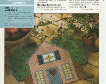 Cottage Placemats in Plastic Canvas