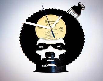 Pete Rock vinyl record clock