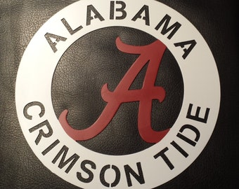 Alabama Metal Wall Art