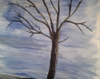 Black Tree - Limited Edition Print of Original Painting