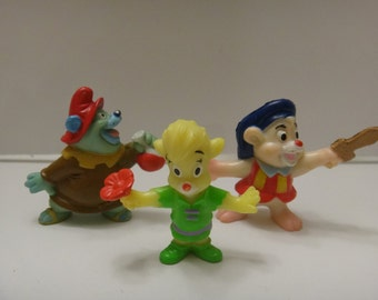 Gummie Bear Figurine, Gummie Bear Set, Disney Gummie Bear, 1990