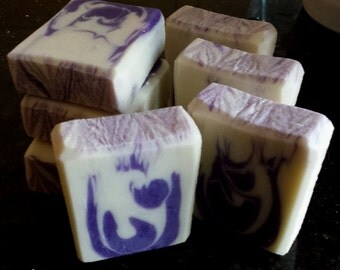 Jasmine Dreams Silk Home Made Artisan Soap Bar / Cold Process Soap / Silk Soap / Jasmine Soap
