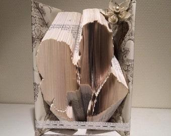 """Bookfolding Pattern """"The Kiss"""""""