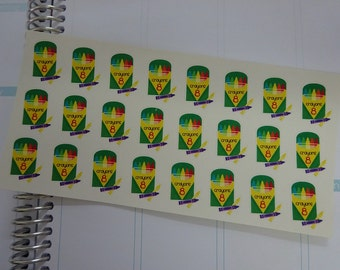 SCHOOL & STATIONERY // Crayon