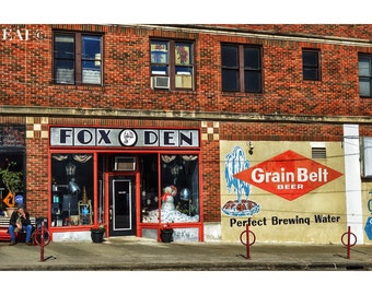 Uptown Streets/color photography/Minneapolis/wall art/print/architecture
