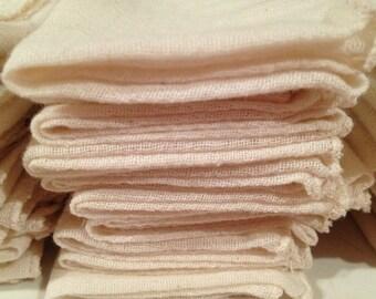 Organic Muslin Facial Cloth Sets